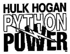 HULK HOGAN PYTHON POWER
