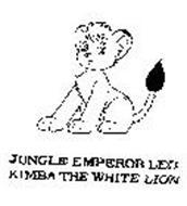 JUNGLE EMPEROR LEO KIMBA THE WHITE LION