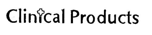CLINICAL PRODUCTS