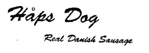 HAPS DOG REAL DANISH SAUSAGE