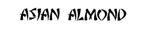 ASIAN ALMOND