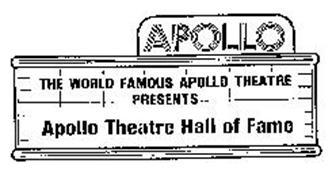 APOLLO THE WORLD FAMOUS APOLLO THEATRE PRESENTS APOLLO THEATRE HALL OF FAME
