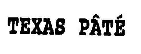 TEXAS PATE