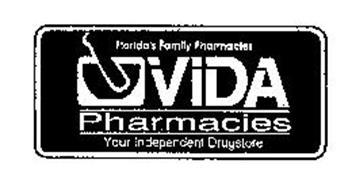FLORIDA'S FAMILY PHARMACIES VIDA PHARMACIES YOUR INDEPENDENT DRUGSTORE