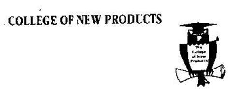 COLLEGE OF NEW PRODUCTS