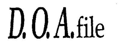 D.O.A. FILE