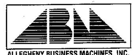 ALLEGHENY BUSINESS MACHINES, INC. ABM