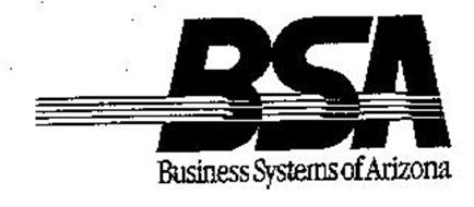 BSA BUSINESS SYSTEMS OF ARIZONA