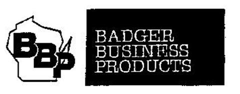 BBP BADGER BUSINESS PRODUCTS