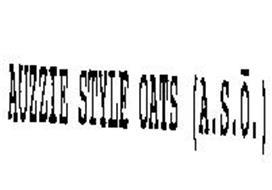 AUZZIE STYLE OATS (A.S.O.)