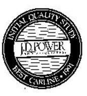 J.D. POWER AND ASSOCIATES INITIAL QUALITY STUDY BEST CARLINE 1991