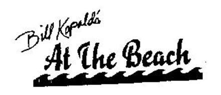 BILL KOPALD'S AT THE BEACH