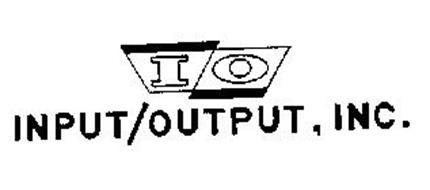INPUT/OUTPUT, INC. IO