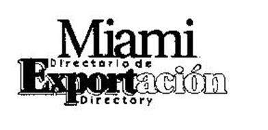 MIAMI DIRECTORIO DE EXPORTACION DIRECTORY