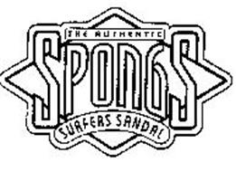 THE AUTHENTIC SPONGS SURFERS SANDAL