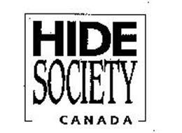 HIDE SOCIETY CANADA
