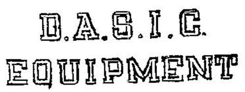 B.A.S.I.C. EQUIPMENT