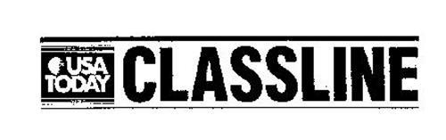 CLASSLINE USA TODAY THE NATION'S NEWSPAPER VIA SATELLITE