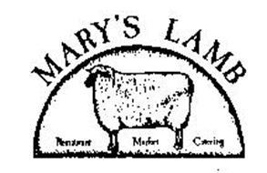 MARY'S LAMB RESTAURANT MARKET CATERING