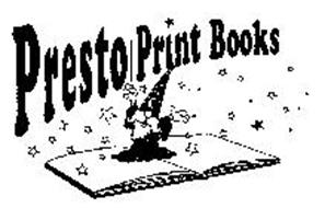 PRESTO PRINT BOOKS