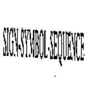SIGN-SYMBOL-SEQUENCE