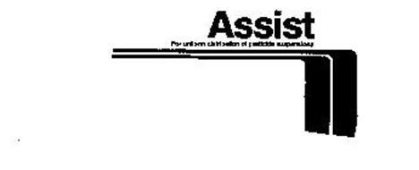 ASSIST FOR UNIFORM DISTRIBUTION OF PESTICIDE SUSPENSIONS