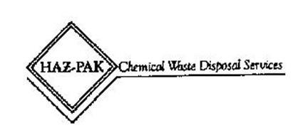 HAZ-PAK CHEMICAL WASTE DISPOSAL SERVICES