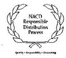 NACD RESPONSIBLE DISTRIBUTION PROCESS QUALITY - RESPONSIBILITY - STEWARDSHIP