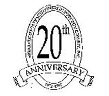 ASSOCIATION FOR PRACTITIONERS IN INFECTION CONTROL, INC. 20TH ANNIVERSARY 1972-1992