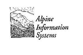 ALPINE INFORMATION SYSTEMS