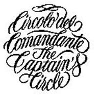 CIRCOLO DEL COMANDANTE THE CAPTAIN'S CIRCLE