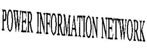 POWER INFORMATION NETWORK