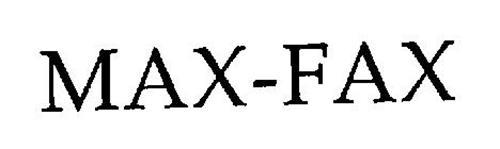 MAX-FAX