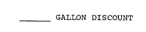 GALLON DISCOUNT