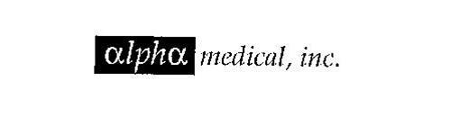 ALPHA MEDICAL, INC.