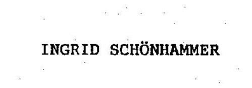INGRID SCHONHAMMER