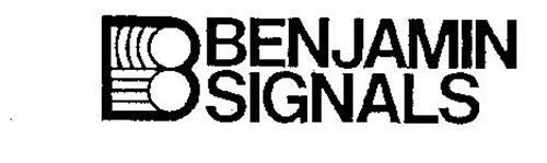 B BENJAMIN SIGNALS