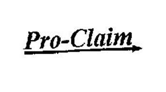 PRO-CLAIM