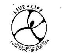LIVE LIFE KOOL ELMO SHADES USA CAUTION: USE DISCRETION