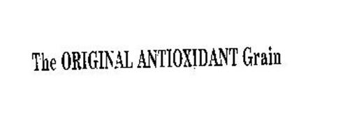 THE ORIGINAL ANTIOXIDANT GRAIN