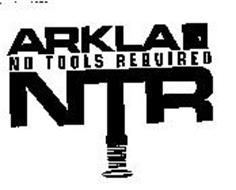 ARKLA NO TOOLS REQUIRED NTR