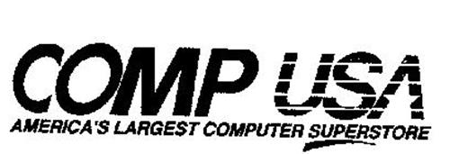 COMP USA AMERICA'S LARGEST COMPUTER SUPERSTORE