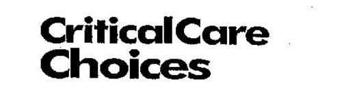 CRITICAL CARE CHOICES