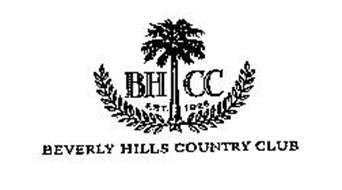 BEVERLY HILLS COUNTRY CLUB BH CC EST. 1926