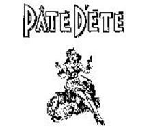 PATE D'ETE