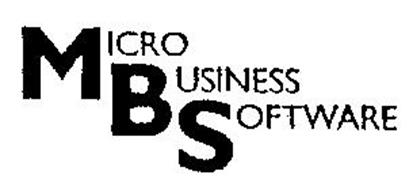 MBS MICRO BUSINESS SOFTWARE