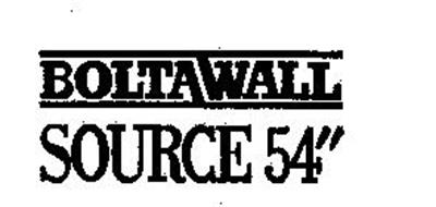 BOLTAWALL SOURCE 54