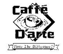 CAFFE D'ARTE TASTE THE DIFFERENCE!
