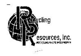 RECYCLING RESOURCES, INC. RECYCLING WASTE INTO PROFITS