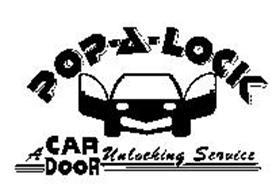 POP-A-LOCK A CAR DOOR UNLOCKING SERVICE